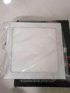 Led panel light white colour 18W