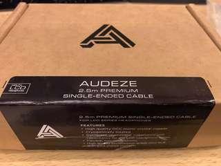 Audeze 2.5m Premium Single-Ended Cable