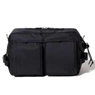 Instock Head Porter Japan Black Beauty Waist Bag Made In Japan