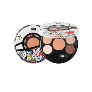 Bts Bt21 x Vt Cosmetics Eye Shadow Palette