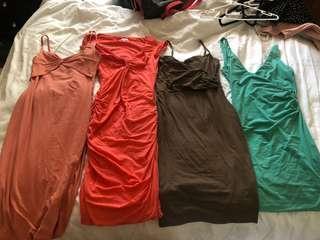 4 Kookai dresses