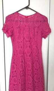 Future State Pink Lace Dress