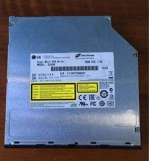 LG GS40N Ultra Slim Internal DVD Writer Drive, Slot Type