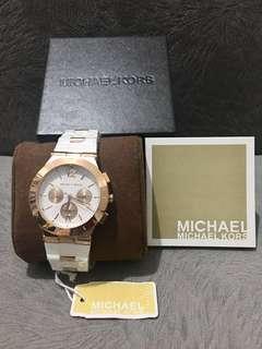 Original Michael Kors Wyatt chronograph watch