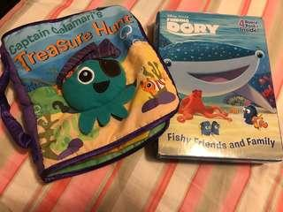 Finding Dory and Treasure Hunt Books