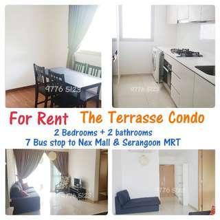 The Terrasse Condo For Rent - 2 Bedrooms + 2 Bathroom