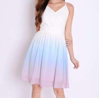 Ombre/gradient dress
