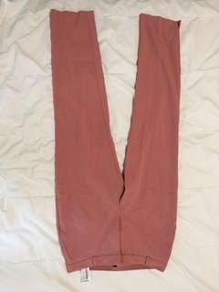 pink pants STRADIVARIUS