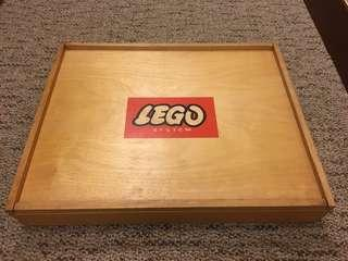 Vintage Lego Wooden Box in 60s 非常經典懷舊60年代的Lego木箱