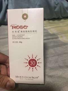 🚚 玫瑰蔻-防曬乳