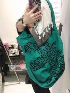 🚚 [CLEARANCE] Agnes b - sports b signature green dinosaur shoulder bag