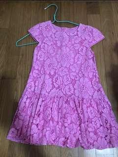 Mothercare pink dress 4yo