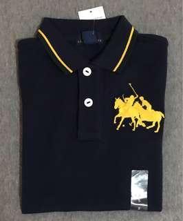 Polo Ralph Lauren Polo Shirt Kids Boys Navy Blue
