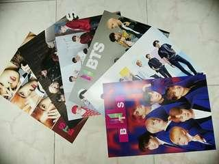 [CHEAP, BUY TWO FREE ONE] UNOFFICIAL BTS POSTERS