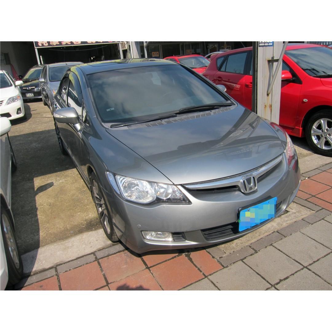 2007年-Civic-1.8灰