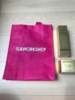 Isaworkshop Isa work shop 護膚化妝品gold brightening gel repair cream (not laneige)