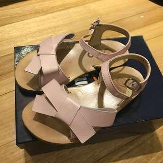 Authentic Like New Gallucci Pink Leather Girl's Sandals