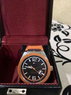 ✅Authentic Tommy Hilfiger Orange Silicon
