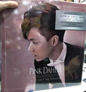 全新 無編號 張敬軒 白衫 黑衫  Pink Dahlia Vinyl LP 黑膠
