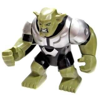 Lego Super Heroes Marvel Giant Green Goblin Brand New Free Shipping