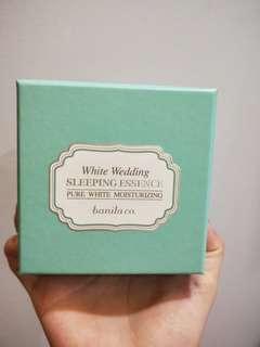 🚚 White Wedding Sleeping Essence