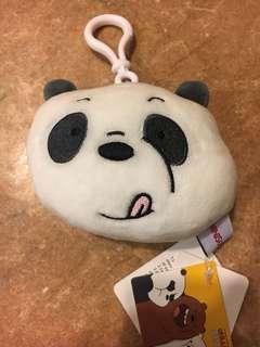 🚚 We bare bear - pan pan keychain