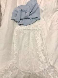 BRANDNEW Top & skirt