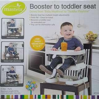 BOOSTER TO TODDLER PORTABLE SEAT