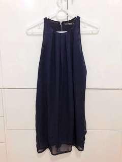 Philosophy Dress Midnight Blue L