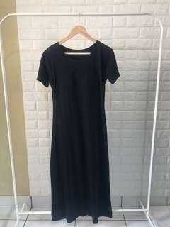 Mididress uniqlo with bra inside