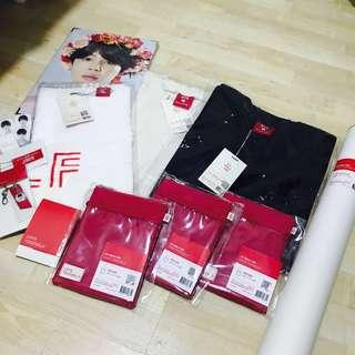 [INSTOCK] bts official love yourself tour merch