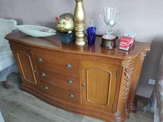 Dining Table and Buffet Table