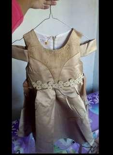 Dress gaun anak cewe baby girl