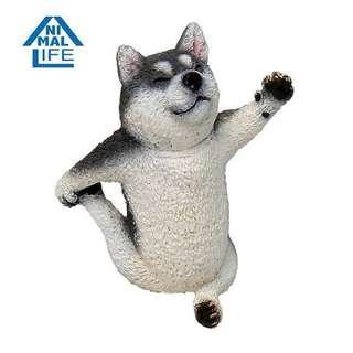 朝隈俊男 ANIMAL LIFE Baby Yoga Dog 狗瑜珈寶貝(哈士奇)