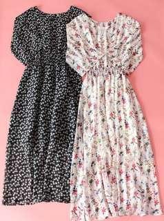 🚚 Flora maxi dress M/L