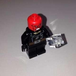Lego Marvel Super Heroes Red Skull with cube - Authentic Free Shipping