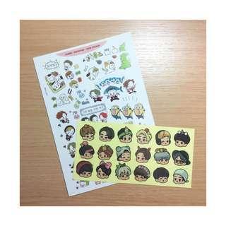 🚚 ♥︎ EXO 同人手帳貼紙