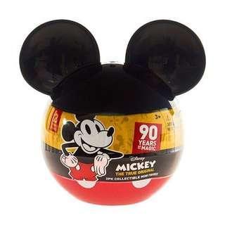 Disney 迪士尼 米奇90週年 2吋米奇小公仔 驚喜2入組