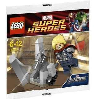 Lego 30163 Marvel Super Heroes Thor and the Cosmic Cube - Free Postage Brand new Sealed