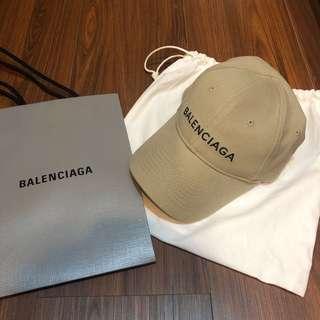 Balenciaga Logo Cap 巴黎世家 卡其老帽 全新現貨在台