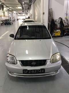 Hyundai Accent $250/week No deposit