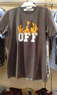 Off white T-shirt (kaos)