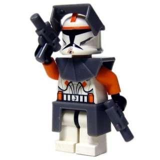 Lego Star Wars Commander Cody Clone Trooper - Brand New Free Shipping