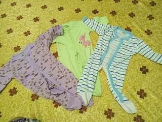 Baju tidur Next 0-3 bulan