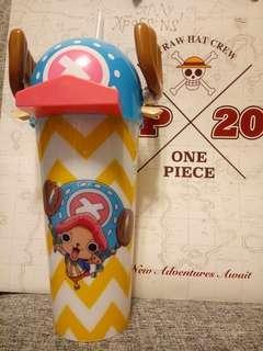 One Piece Chopper膠凍飲趣味杯