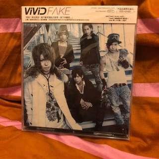 Vivid fake 港版 CD全新未開封
