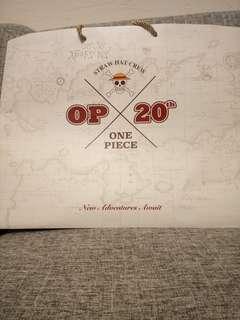 One Piece Run紀念品紙袋(A3)