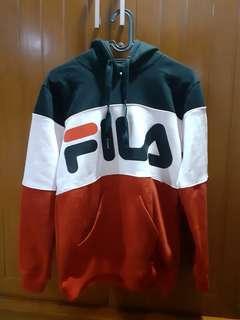 Fila hoodie tricolor free pomade