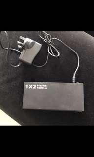 HDMI splitter 1 in - 2 out