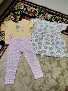 Preloved Baju Anak 2 tahun